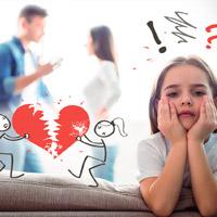 Как дети переживают развод