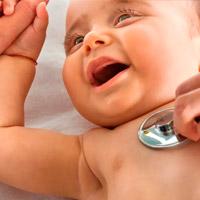 Медосмотр младенца до месяца