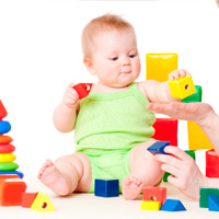 Развивающие игры для младенца