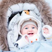 Сколько гулять с новорожденным зимой?