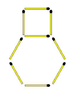 Создайте трехмерный куб, переместив 3 палочки