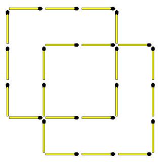 Большие квадраты и мелкие квадраты