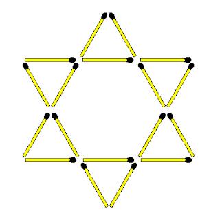 Звезда 6 ромбов