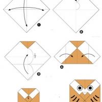 Оригами для детей 4-5 лет
