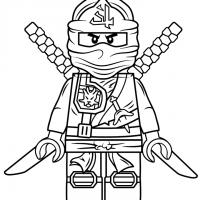 Hаскраска Лего Ниндзя Го