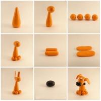 Что можно слепить из оранжевого пластилина