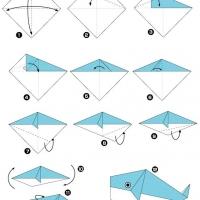 Оригами кит