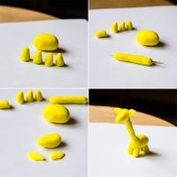 Что можно слепить из желтого пластилина