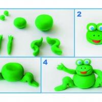 Что можно слепить из зеленого пластилина