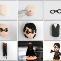 Гарри Поттер из пластилина