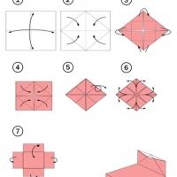 Оригами кровать