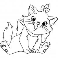 Раскраски котиков
