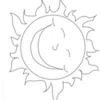 Раскраска по точкам для детей распечатать