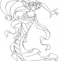 Раскраски винкс русалки
