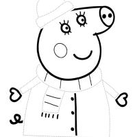 Раскраски по точкам для детей 4 лет