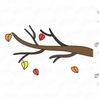 Как нарисовать ветку