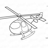 Как нарисовать вертолет