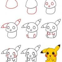 Как нарисовать покемона