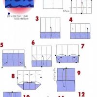 Оригами кошелек