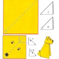 Оригами для детей 9-10 лет
