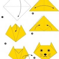 Оригами для детей 3-4 лет