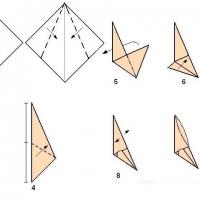 Оригами когти