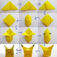 Оригами покемон
