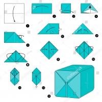 Оригами шар