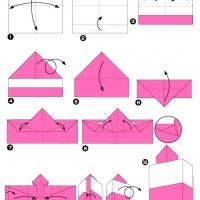 Оригами торт
