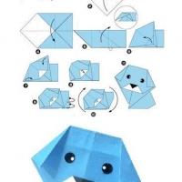 Оригами для детей 7-8 лет