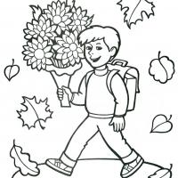 Раскраска День учителя
