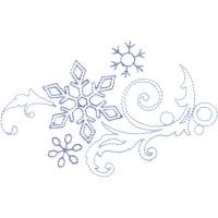Раскраска зимние узоры