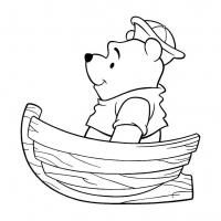 Раскраска лодка