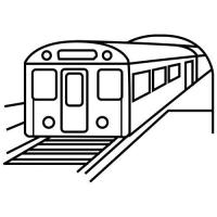 Раскраска метро