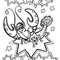 Раскраска знаки зодиака