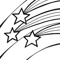 Раскраска звезда