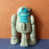 Робот из пластилина
