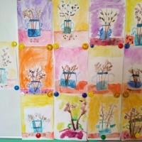Рисунки детей в детском саду