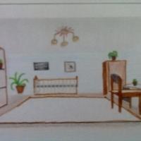 Детский рисунок мебели