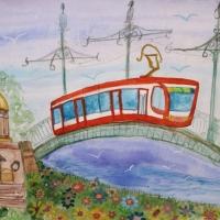Детские рисунки Санкт-Петербурга