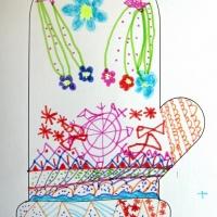 Детские рисунки одежды