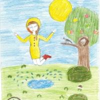Простые детские рисунки