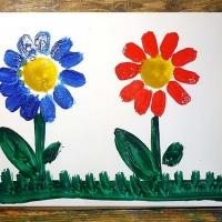 Детские рисунки красками