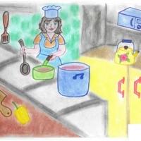 Детские рисунки профессий