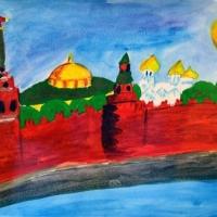 Детские рисунки Москвы